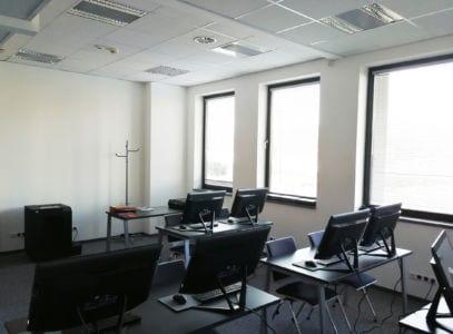 Sala dla kursu Programista CAM 03