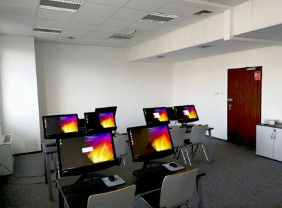 Sala dla kursu Programista CAM 02