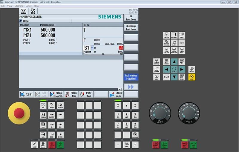 Symulator CNC